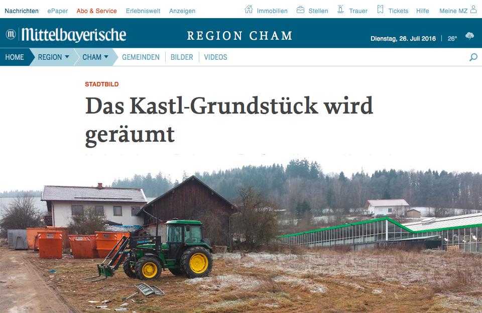 Artikel Kastl Grundstück