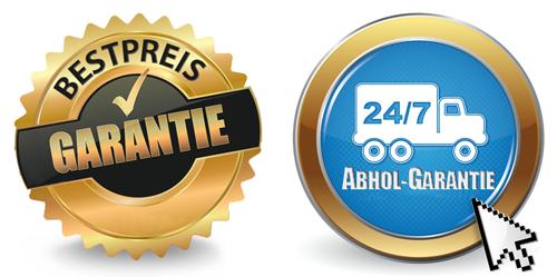 24/7 Abhol-Garantie und Bestpreis