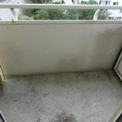 Entrümpelung: Messiwohnung München Balkon leergeräumt