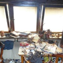 Sperrmüll: vermüllte Wohnung