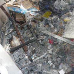Wohnungsauflösung München: Müll und Brandschäden