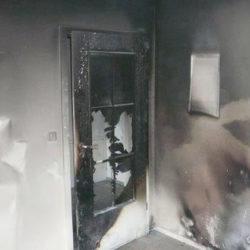 Wohnungsauflösung München: Brandschaden
