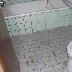 Wohnungsräumung: Badezimmer
